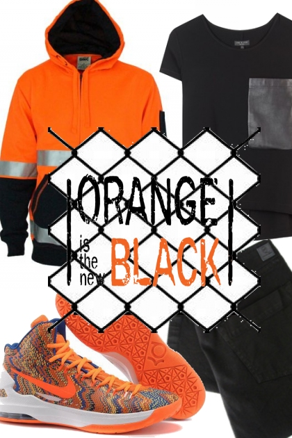 Orange is new black.