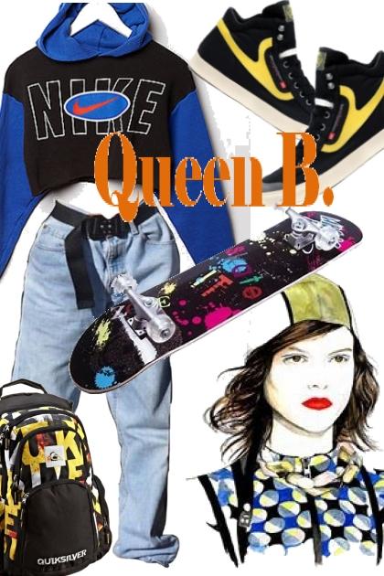 Skate Queen!