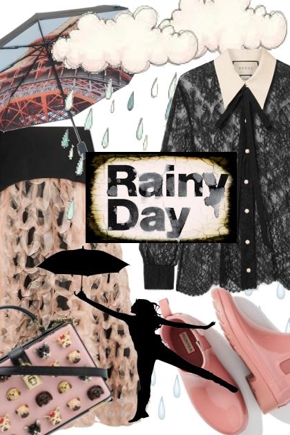 First Fall Rain!- Fashion set
