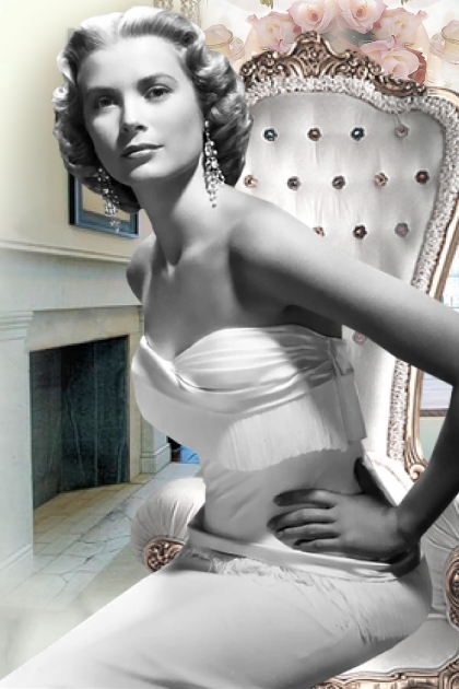Vintage Glam Featuring Grace Kelly