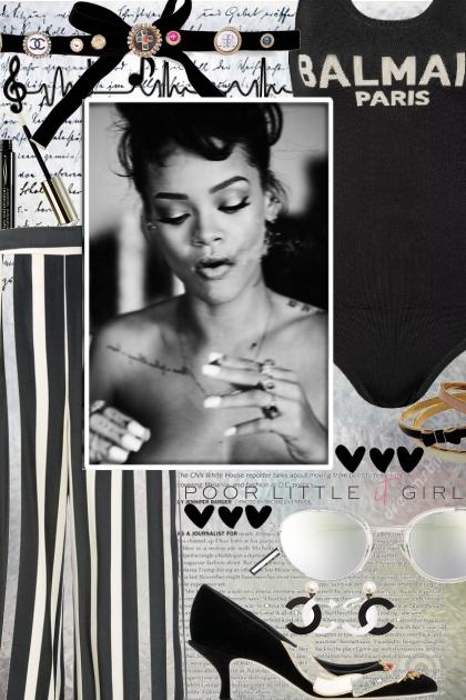 Riri in Black & White