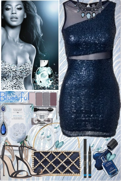 True Blue- Fashion set