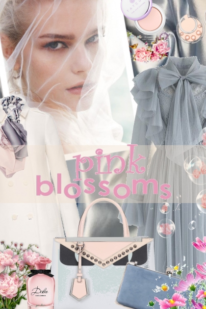 Pink Blossoms- Fashion set
