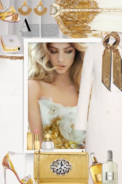 White -Gold Delight
