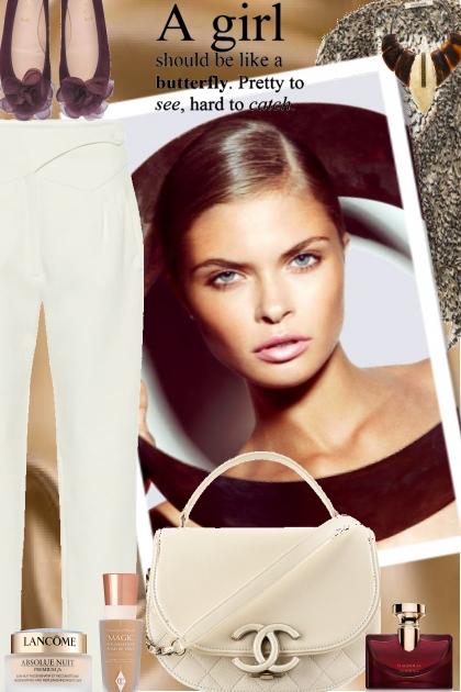 A girl should be ...- combinação de moda