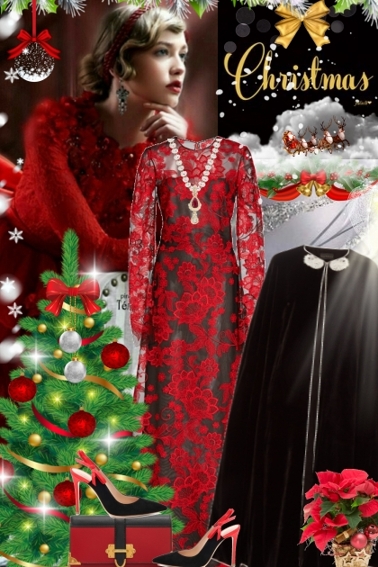Christmas Beauty...!- Fashion set