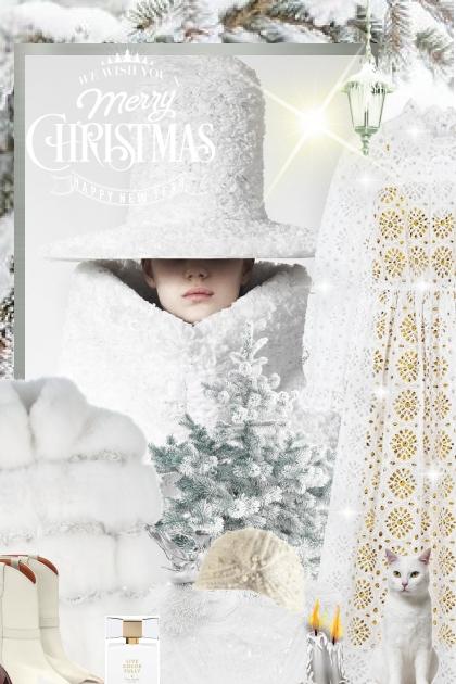 Christmas Whiteness !!!- Модное сочетание