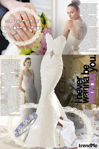 wedding dress for my friend- Fashion set