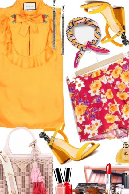 Summer's Summer Combination for Girls Dress Up