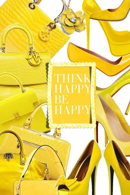 yellow happy