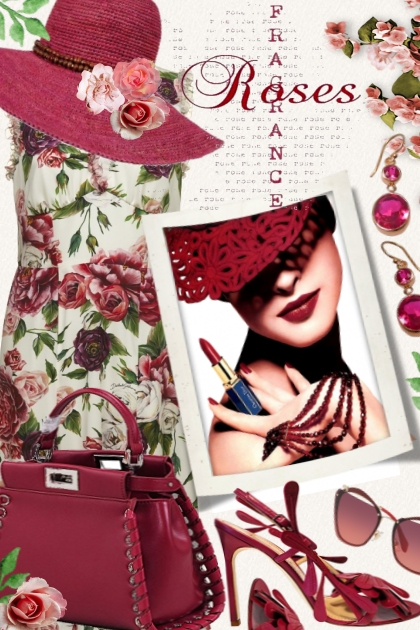 Roses fragrance- Fashion set