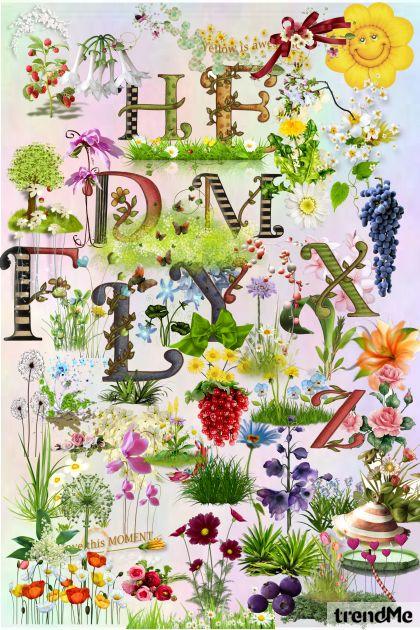 Flower Items for friends!- Modna kombinacija