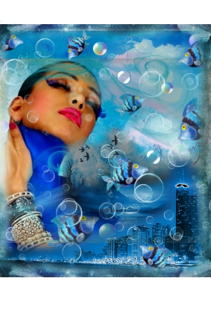 big blue world of fantasy