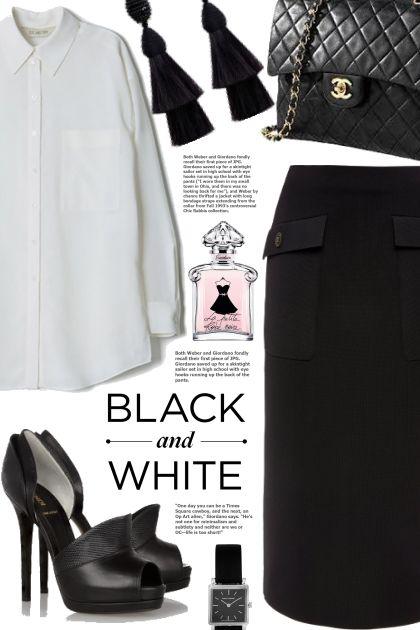 black&white. new