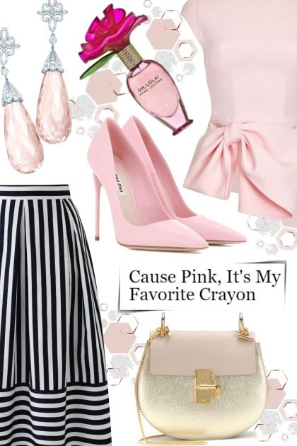 Cause Pink, It's My Favorite Crayon