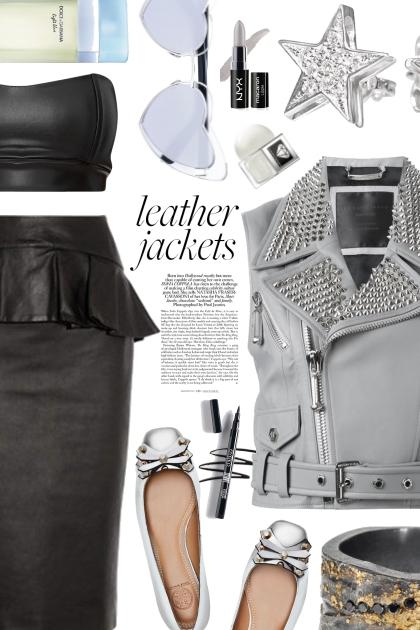 leather jackets- Fashion set