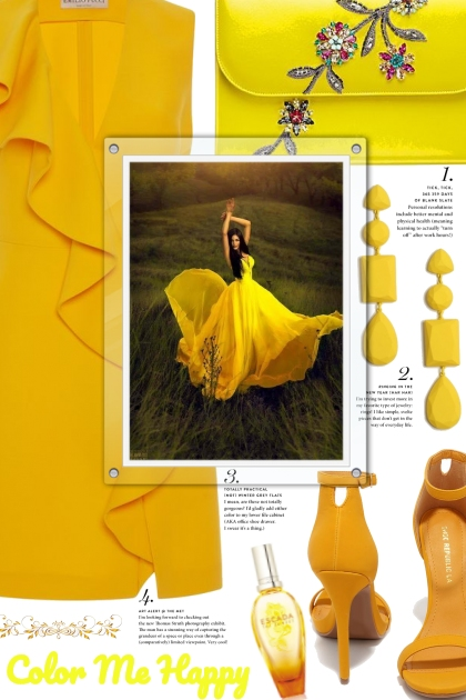 color me happy (yellow)