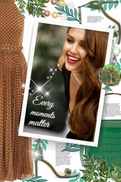 Every moments matter- Fashion set