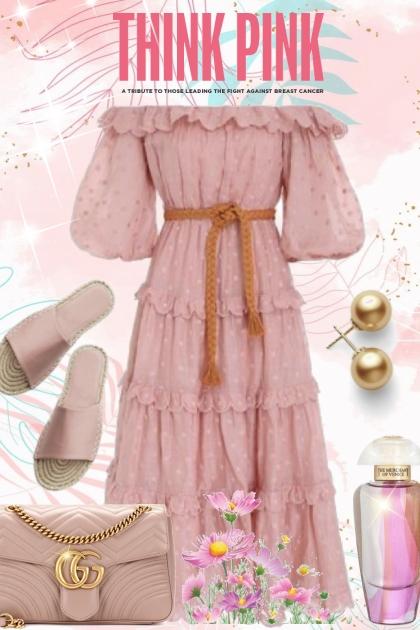think pink- combinação de moda