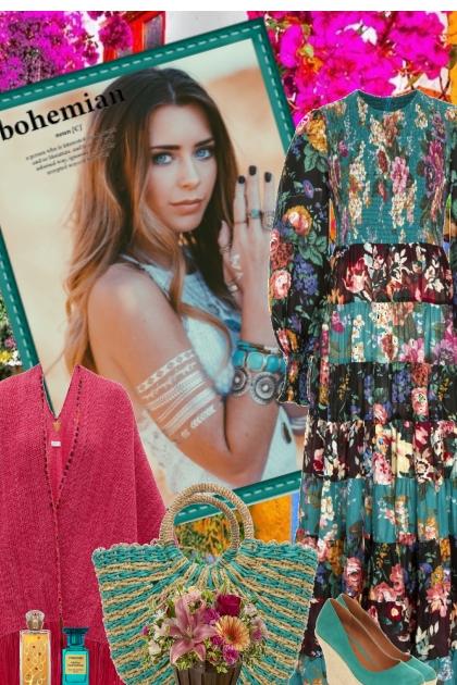 Boho Chic- Fashion set