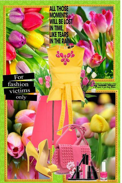 Proljece u bojama Tulipana!