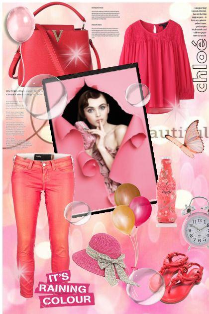 Vesela pink kombinacija !
