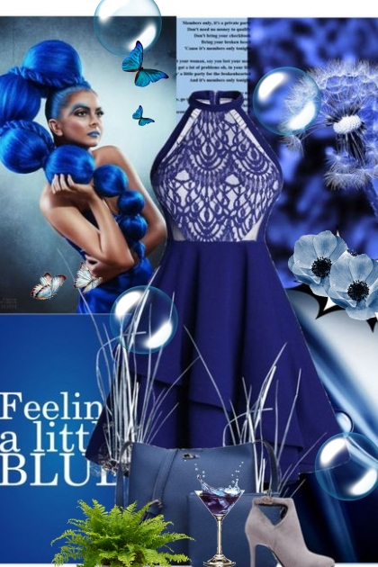 Amazing Blue  Dress!