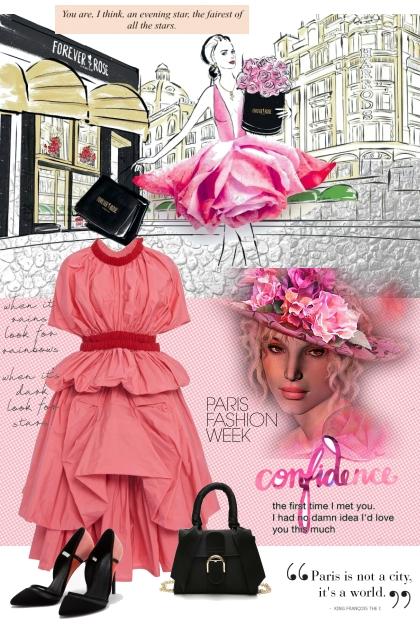 PARIS FASHION WEEK 1- Modna kombinacija