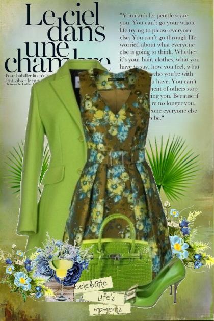 Cvijetna haljina ♥