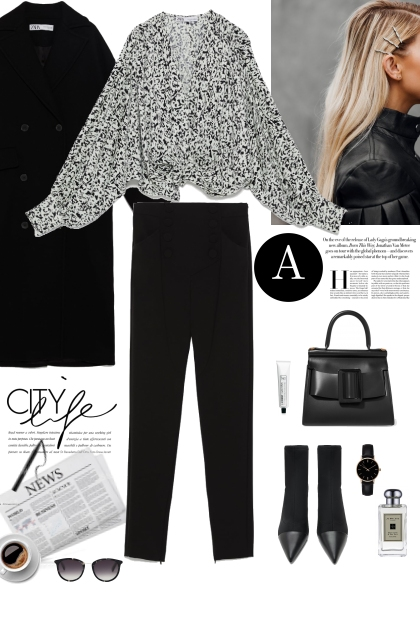 Black & WHite Winter Style