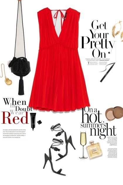 Red dress night version
