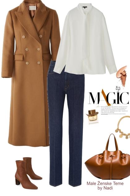 Camel Coat Denim Edition