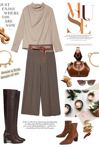 How to wear culotte