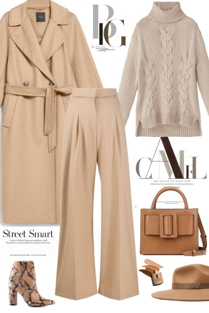 How to wear Camel