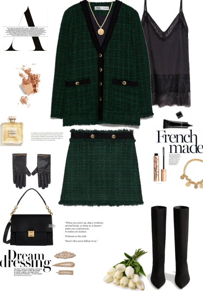 All about tweed suit