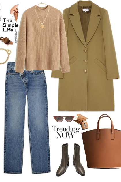 Simple girl look- Fashion set