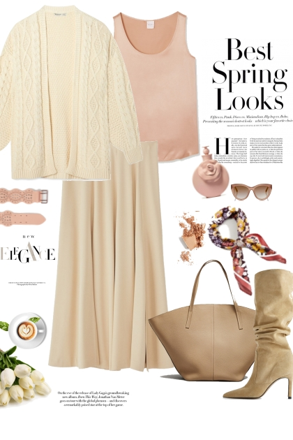 The skirt - 3rd look
