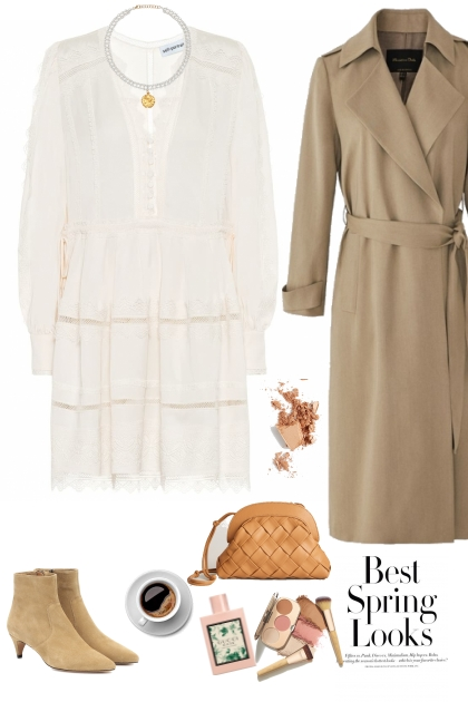 White dress - spring look