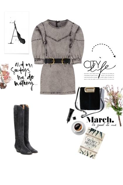 Sunday denim look- Fashion set