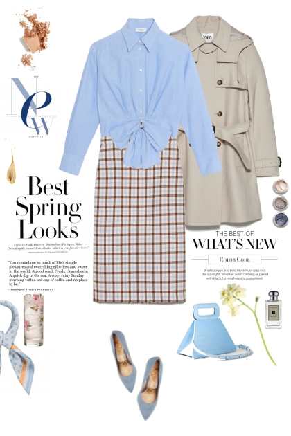 Spring Blues No2- Fashion set
