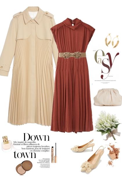 Pleats all the way- Fashion set