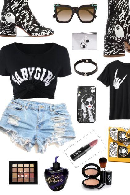 ROCK GIRL STYLE