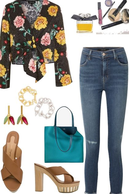 CASUAL FLORAL TOPS