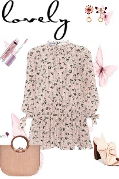 PINK PRINT -WARM DRESSES