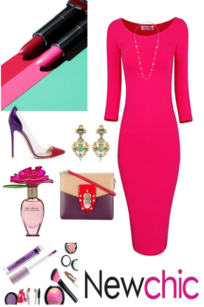 COLORFUL AND CHIC WORK ATTIRE