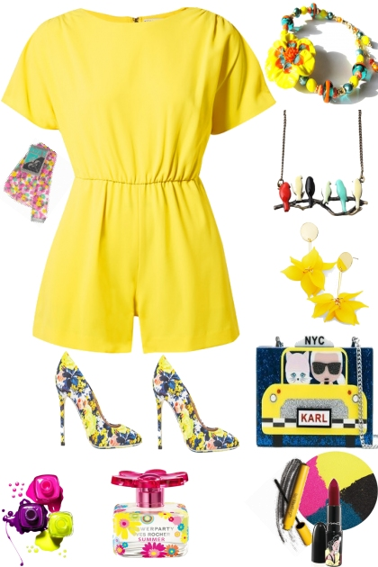 SUMMER TIME IN YELLOW