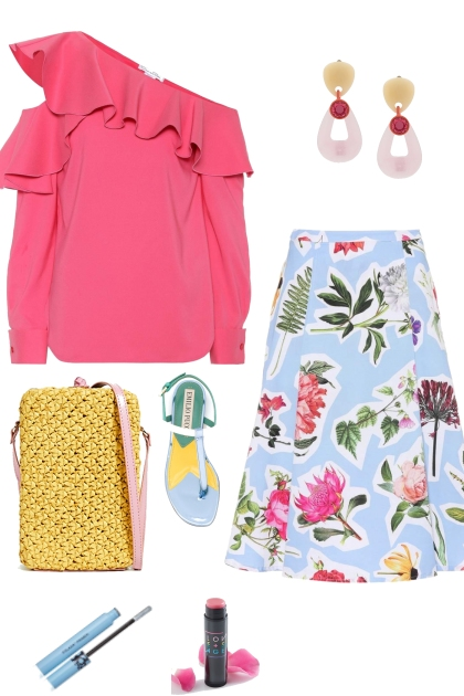 summer time style with cute skirts