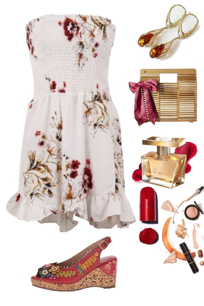 SUMMER DRESSES WITH WEDGES