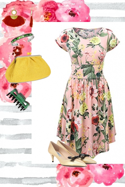 Spring Florals IN THE SUMMER