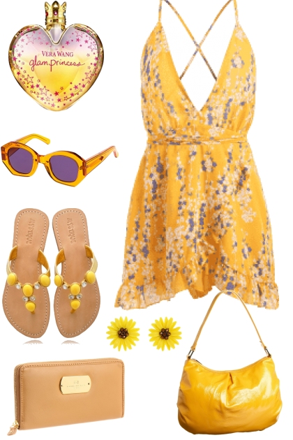 SUMMER YELLOW-DATE NIGHT